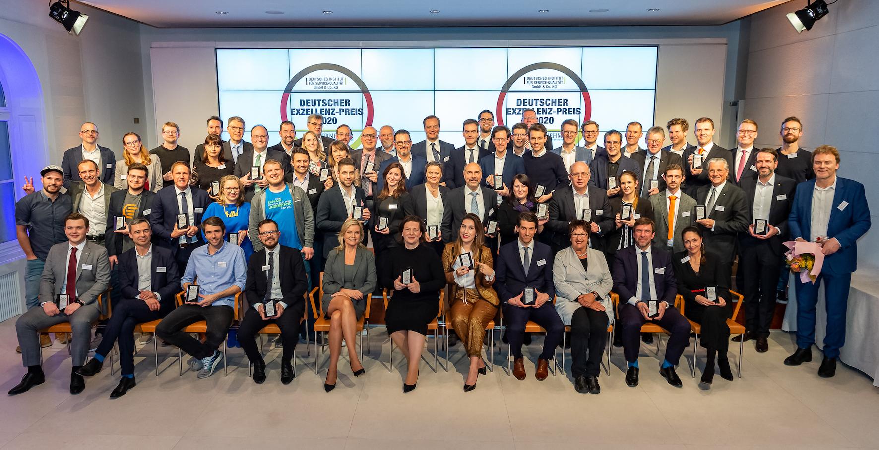 Deutscher Exzellenz-Preis 2020 Gewinner