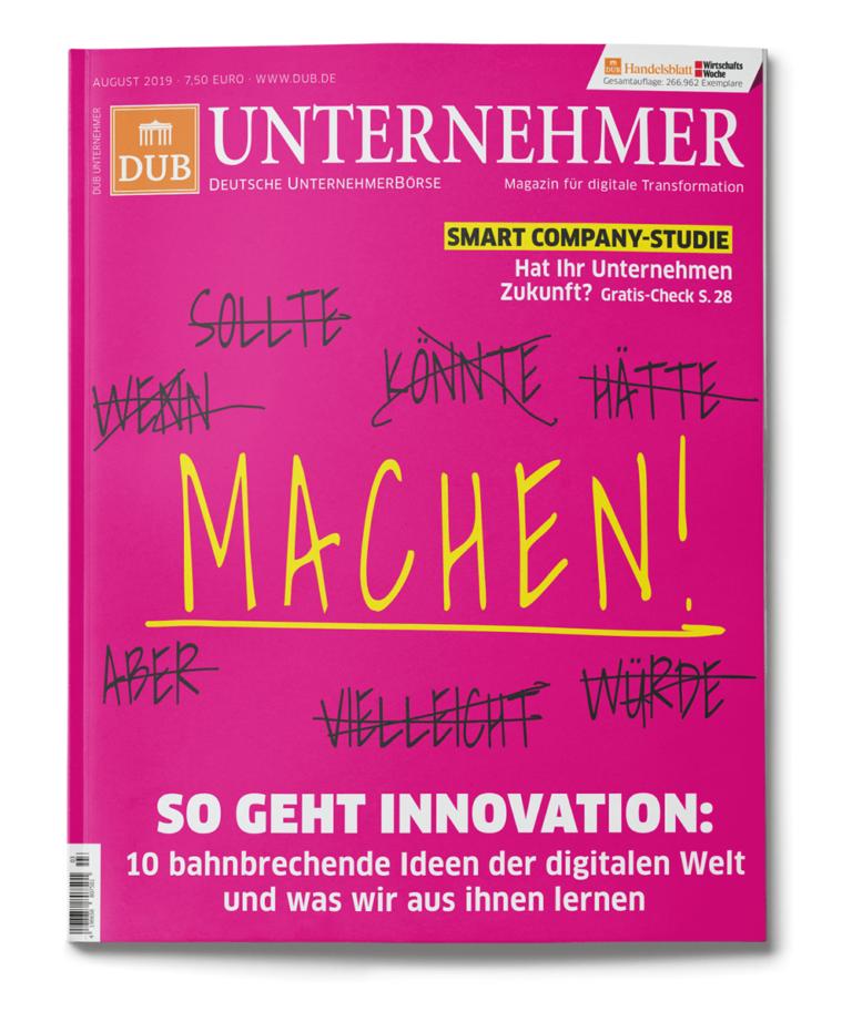 DUB UNTERNEHMER-Magazin 3.2019