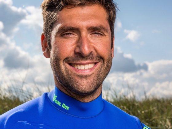 Profi-Windsurfer Vincent Langer
