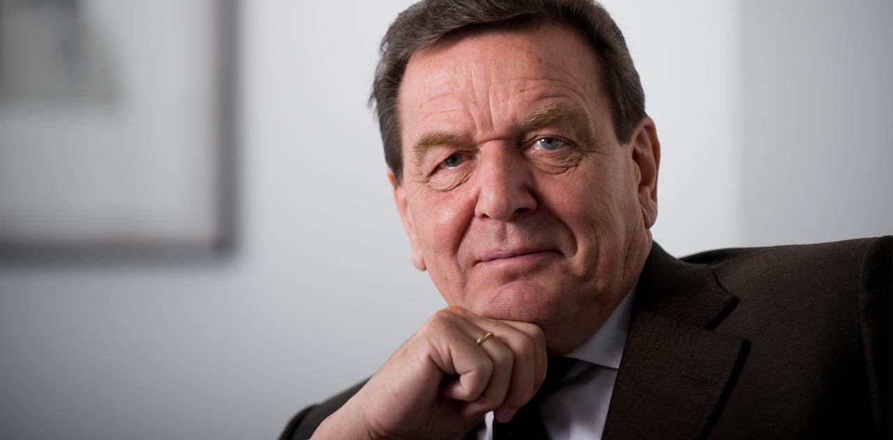 Portrait Gerhard Schröder