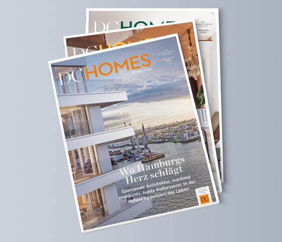 Cover diverser DC Homes Ausgaben